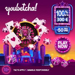Youbetcha Casino Welcome Eur 250x250
