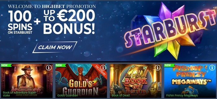 High Bet free spins