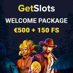 GetSlots Casino bonus banner new